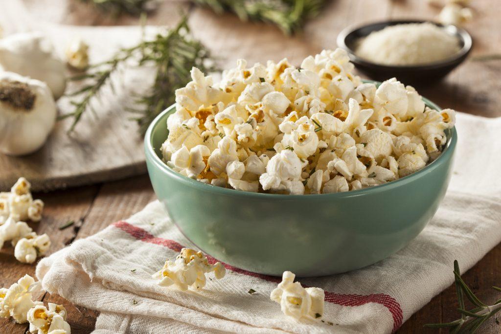 Popcorn für einen Filmabend