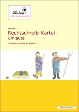 Rechtschreib-Kartei: Umlaute