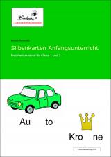 Silbenkarten Anfangsunterricht