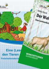 Wald/Lesereise Tiere des Waldes Kombipaket