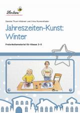 Jahreszeiten-Kunst: Winter