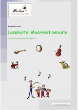 Lesekartei-Musikinstrumente