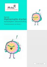 Mathematik-Kartei: Sachaufgaben Zeitumwandlung