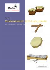 Musikwerkstatt Orff-Instrumente