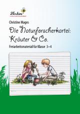 Die Naturforscher-Kartei: Kräuter & Co