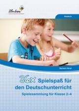 36x Spielspaß für den Deutschunterricht