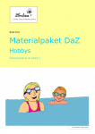 Materialpaket DaZ: Hobbies