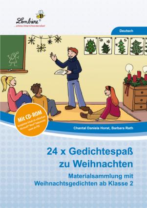 24x Gedichtespaß zu Weihnachten Set