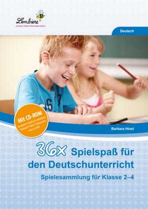 36x Spielspaß für den Deutschunterricht Set