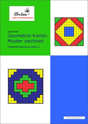 Geometrie-Kartei: Muster zeichnen (DL) DL
