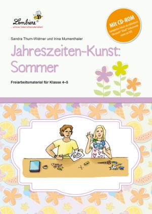 Jahreszeiten-Kunst: Sommer Set