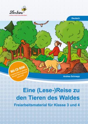 Eine (Lese-)Reise zu den Tieren des Waldes Set