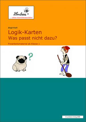 Logik-Karten - Was passt nicht dazu? (DL) DL