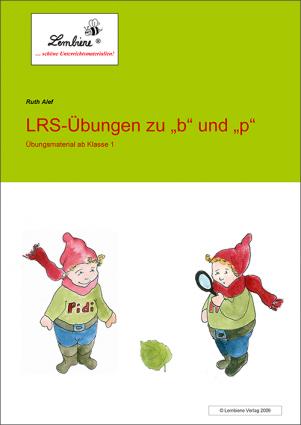 """LRS-Übungen zu """"b"""" und """"p"""""""