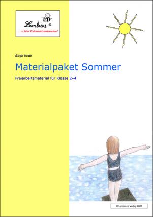 Materialpaket Sommer DL