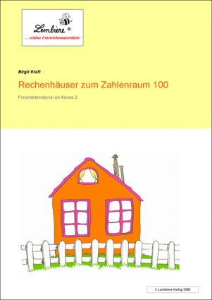 Rechenhäuser zum Zahlenraum 100