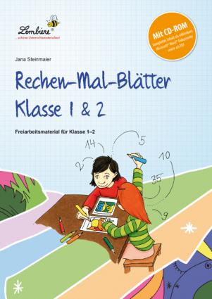 Rechen-Mal-Blätter Klasse 1 & 2 SetSL