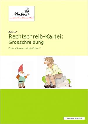 Rechtschreib-Kartei: Großschreibung DL