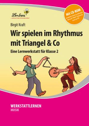 Wir spielen im Rhythmus mit Triangel & Co Set