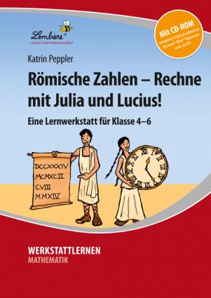 Römische Zahlen – Rechne mit Julia und Lucius! Set