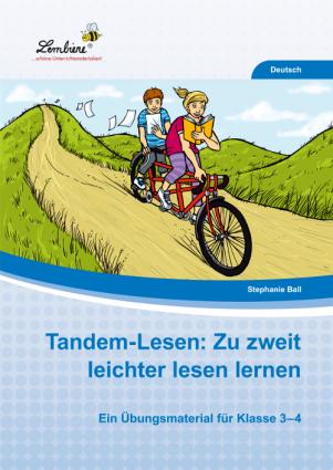 Tandem-Lesen: Zu zweit leichter lesen lernen