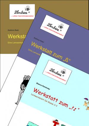 """Werkstatt zum """"tz"""", """"ß"""" und """"Dehnungs-h"""" Kombipaket"""
