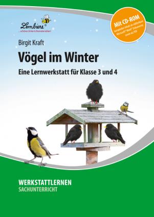Vögel im Winter Set