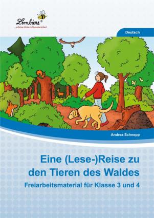 Eine (Lese-)Reise zu den Tieren des Waldes PR