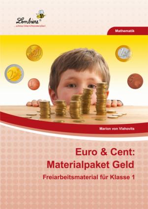 Euro & Cent - Materialpaket Geld - Restauflage