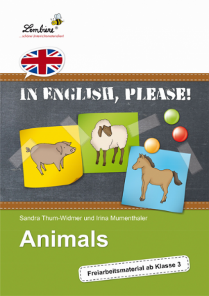 In English, please! Animals - Restauflage