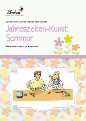 Jahreszeiten-Kunst: Sommer DL