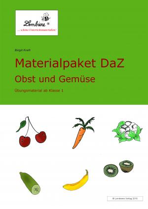 Materialpaket Daz: Obst und Gemüse DLP