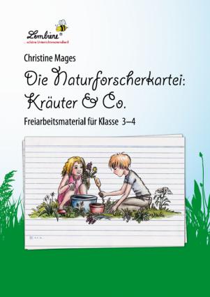 Die Naturforscher-Kartei: Kräuter & Co PR