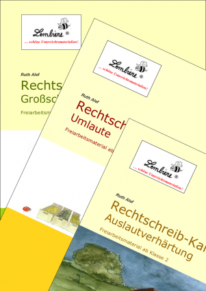 Rechtschreib-Kartei Kombipaket DL
