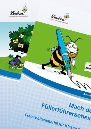 Silben / Füllerführerschein Kombipaket