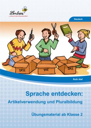 Sprache entdecken: Artikelverwendung und Pluralbildung - Restauflage