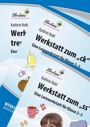 """Werkstatt zum """"ck"""", """"ss"""" und """"silbentrennenden-h"""" Kombipaket"""