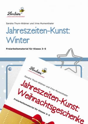 Jahreszeiten-Kunst Winter/Weihnachtsgeschenke Kombipaket