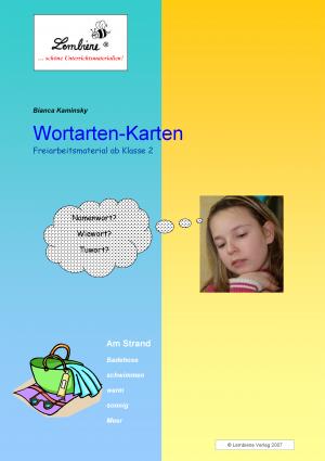 Wortarten-Karten DL