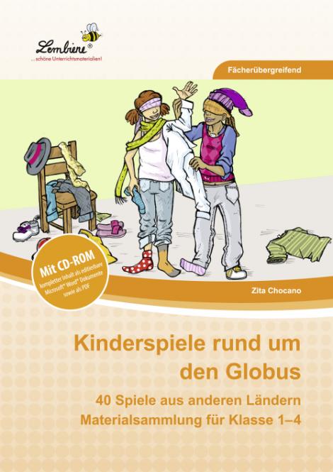 Kinderspiele rund um den Globus Set