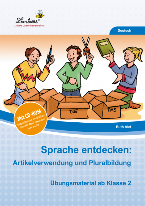 Sprache entdecken: Artikelverwendung und Pluralbildung SetSL