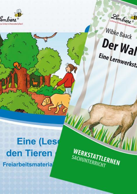 Wald/Lesereise Tiere des Waldes Kombipaket DL
