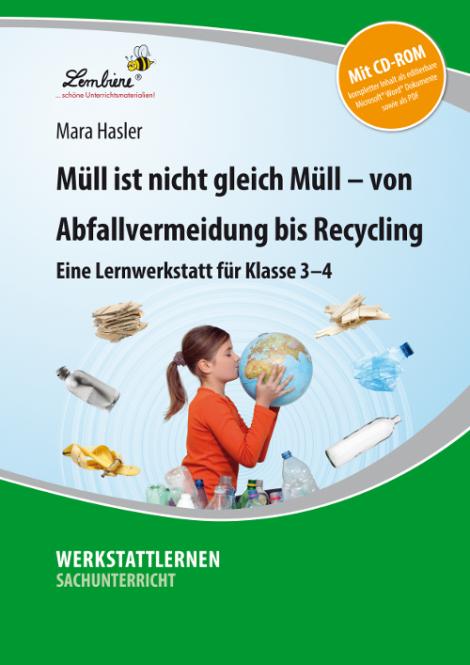 Müll ist nicht gleich Müll – von Abfallvermeidung bis zu Recycling Set