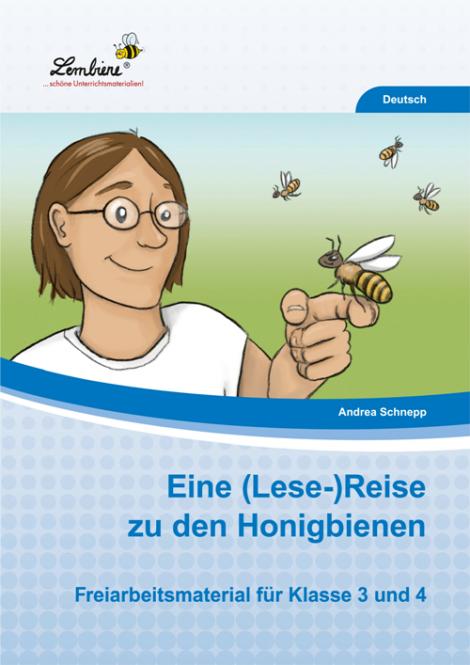 Eine (Lese-)Reise zu den Honigbienen PR