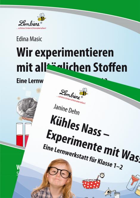 Experimente m. alltägl. Stoffen / Kühles Nass Kombipaket DL