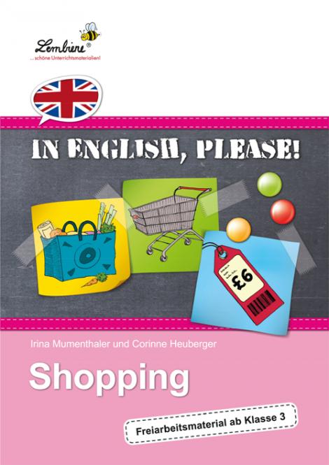 In English, please! Shopping - Restauflage CD