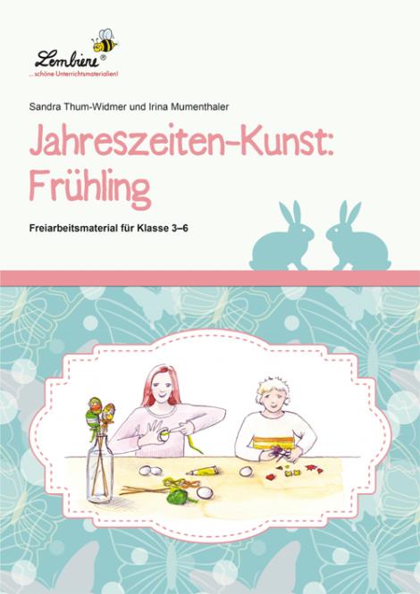 Jahreszeiten-Kunst: Frühling DLP