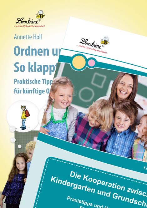 Kooperation Kindergarten-Grundschule/ Ordnen & Organisieren Kombipaket DL