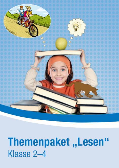 Themenpaket Lesen, Klasse 2–4 DLP