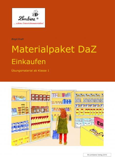 Materialpaket DaZ: Einkaufen (DL) DLP